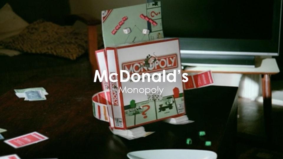 John Stephenson - McDonalds 'Monopoly'