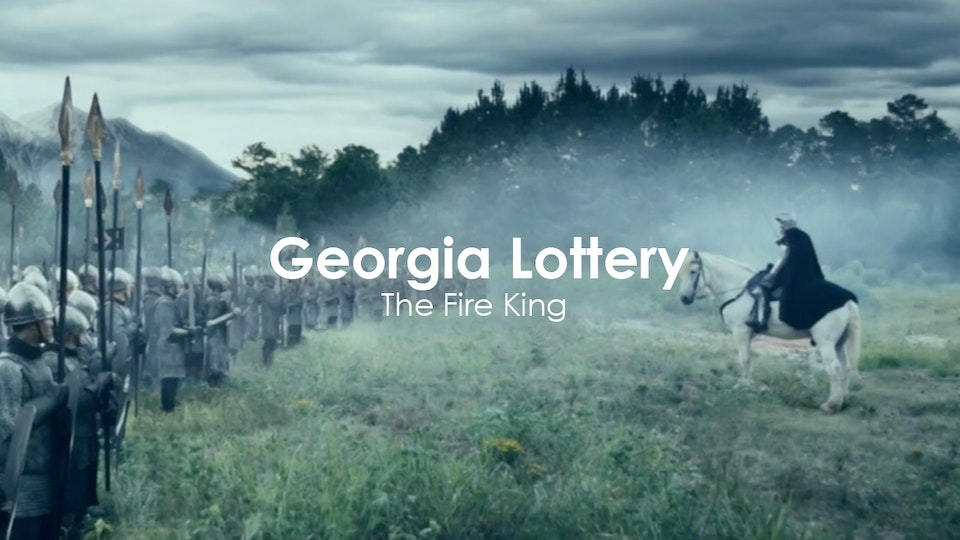 Toby Haynes - Georgia Lottery - The Fire King