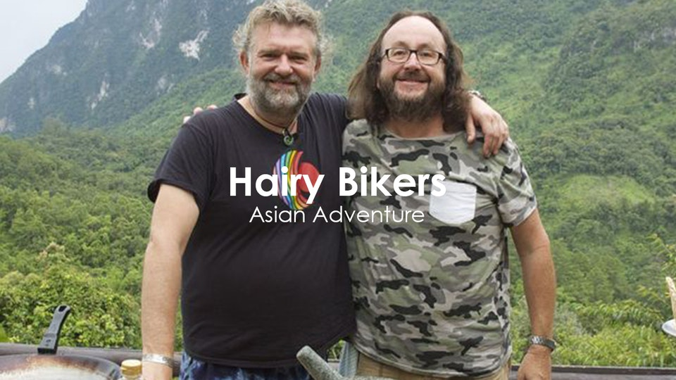 Stuart Bateup - Hairy Bikers Asian Adventure