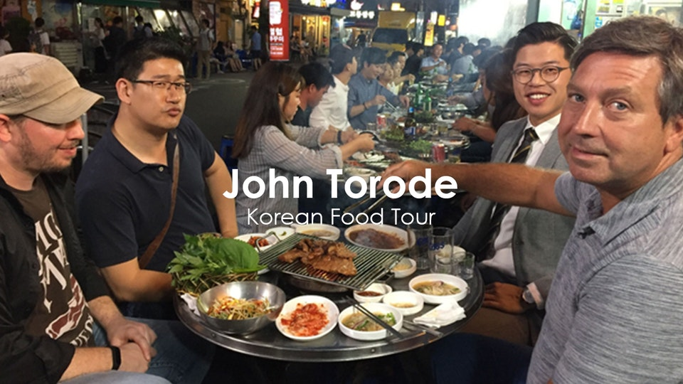 Stuart Bateup - John Torode's Korean Food Tour