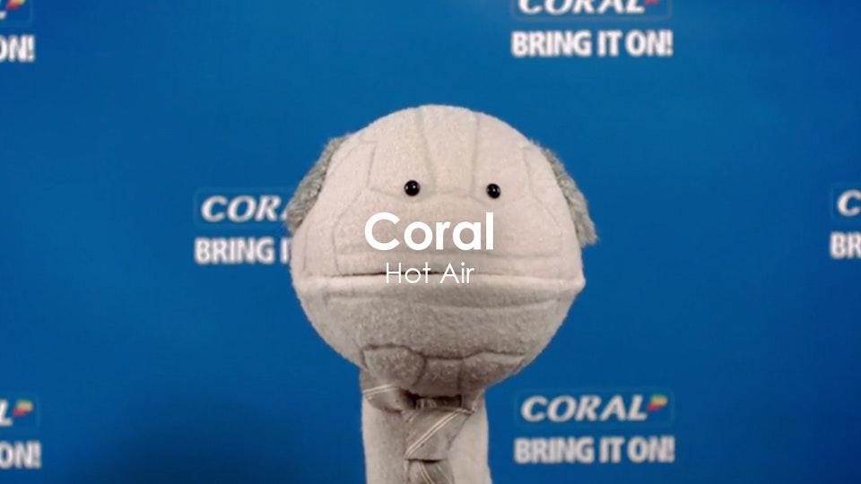 John Stephenson - Coral 'Hot Air'