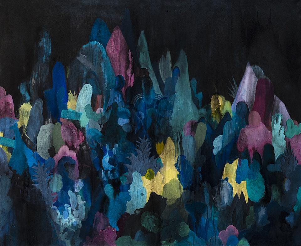 "Justin Southey 2015_Sauvage - Justin Southey 2015 ""Sauvage"" Oil on Canvass 1150mmx1400mm Cavalli Estate Gallery SOLD"