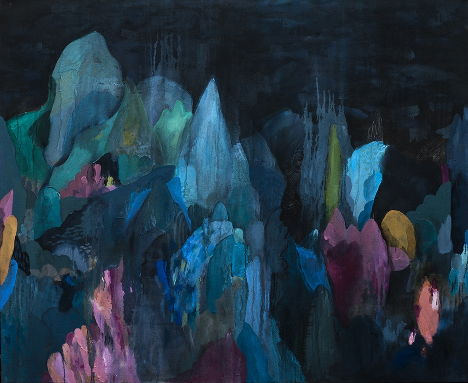 """Justin Southey 2015_Requiem - Justin Southey 2015 """"Requiem"""" Oil on Canvass 1150mmx1400mm Unavailable"""