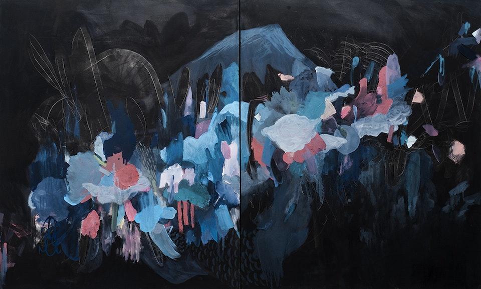 "Justin Southey_2015_Emminence - Justin Southey 2015 ""Emminence"" Oil on Canvass 2300mmx1400mm ZAR 65 000"
