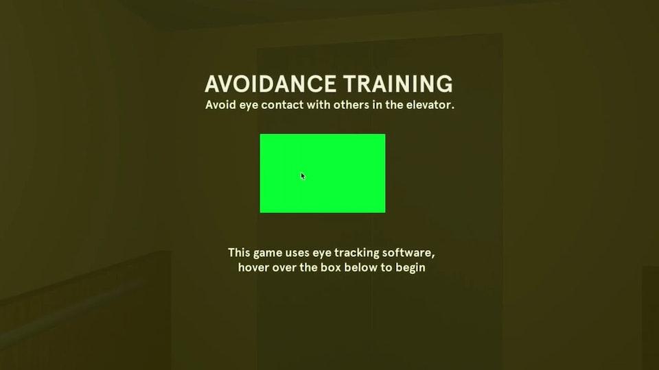 » Avoidance Training «