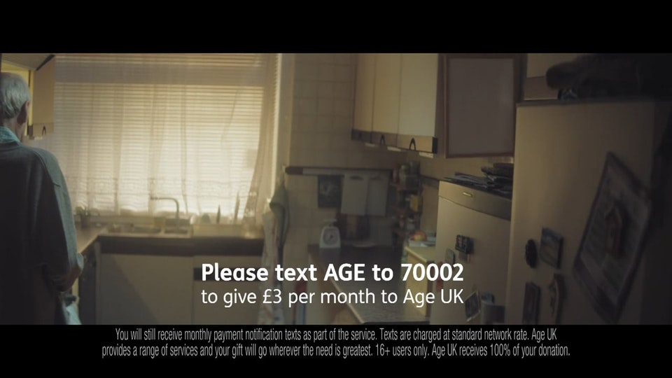 AgeUK 'We are Here' - commercial - dir: James Lawes | prod: Darling / RSA -