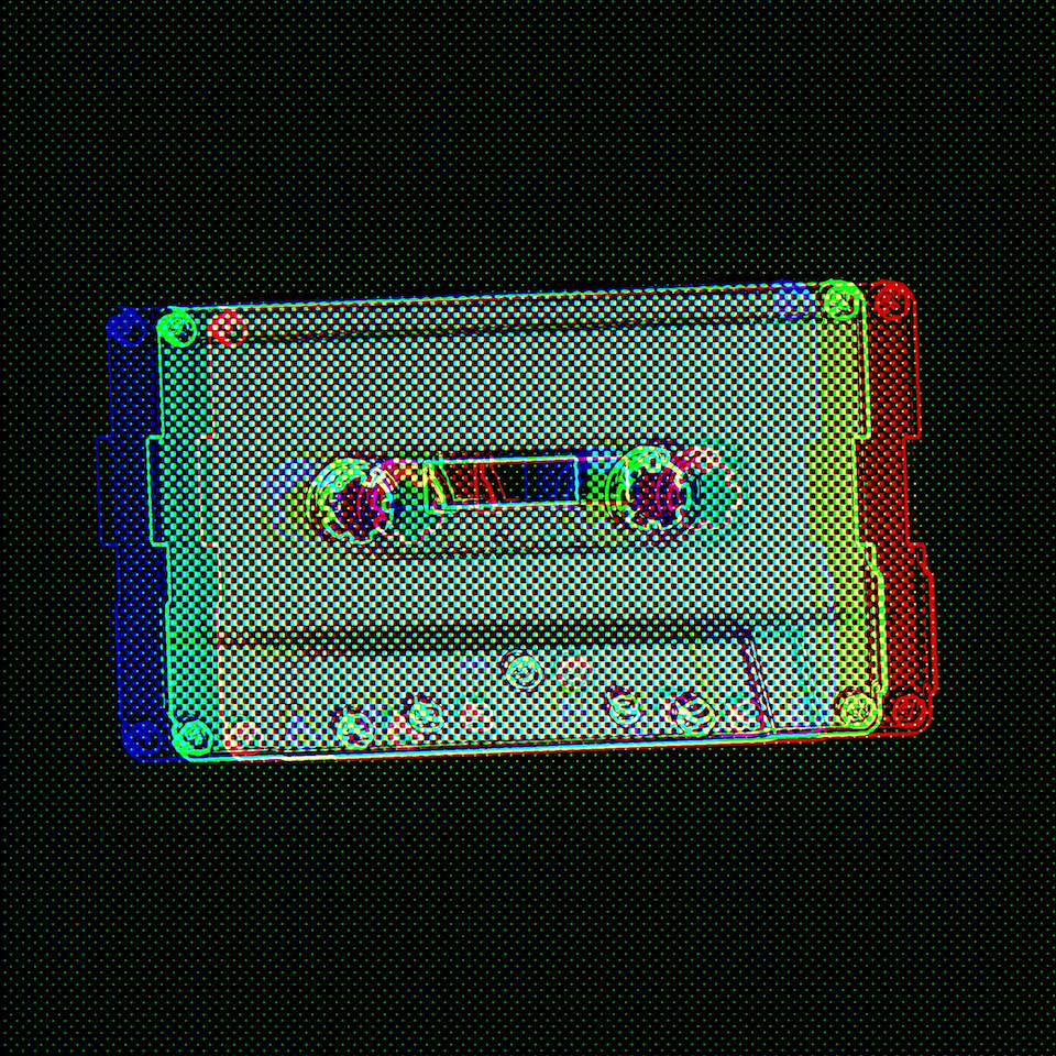 Chromatic Compact Cassette #3 by Connie Digital