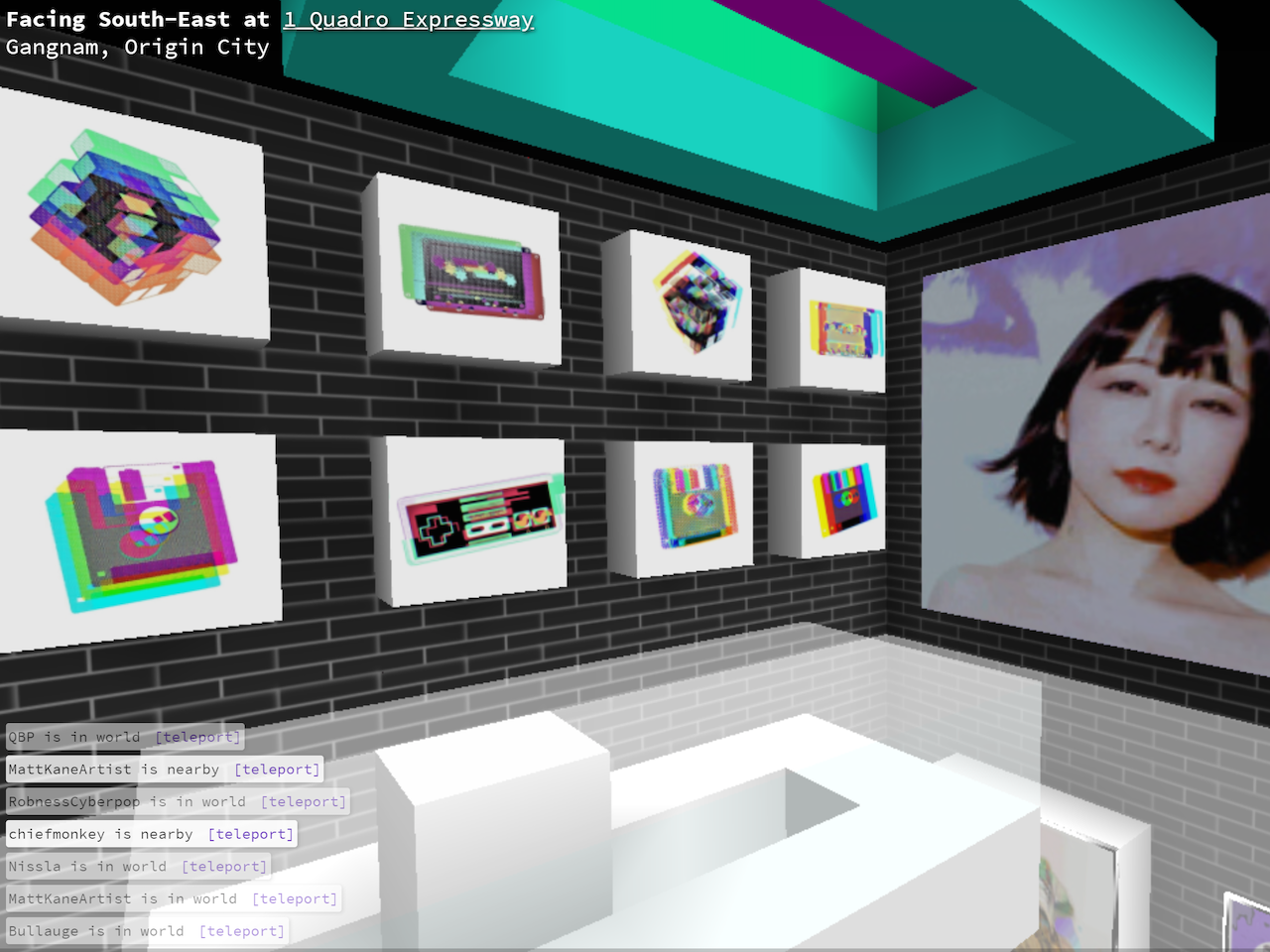 Connie Digital Virtual Art Gallery_3_Cryptovoxels