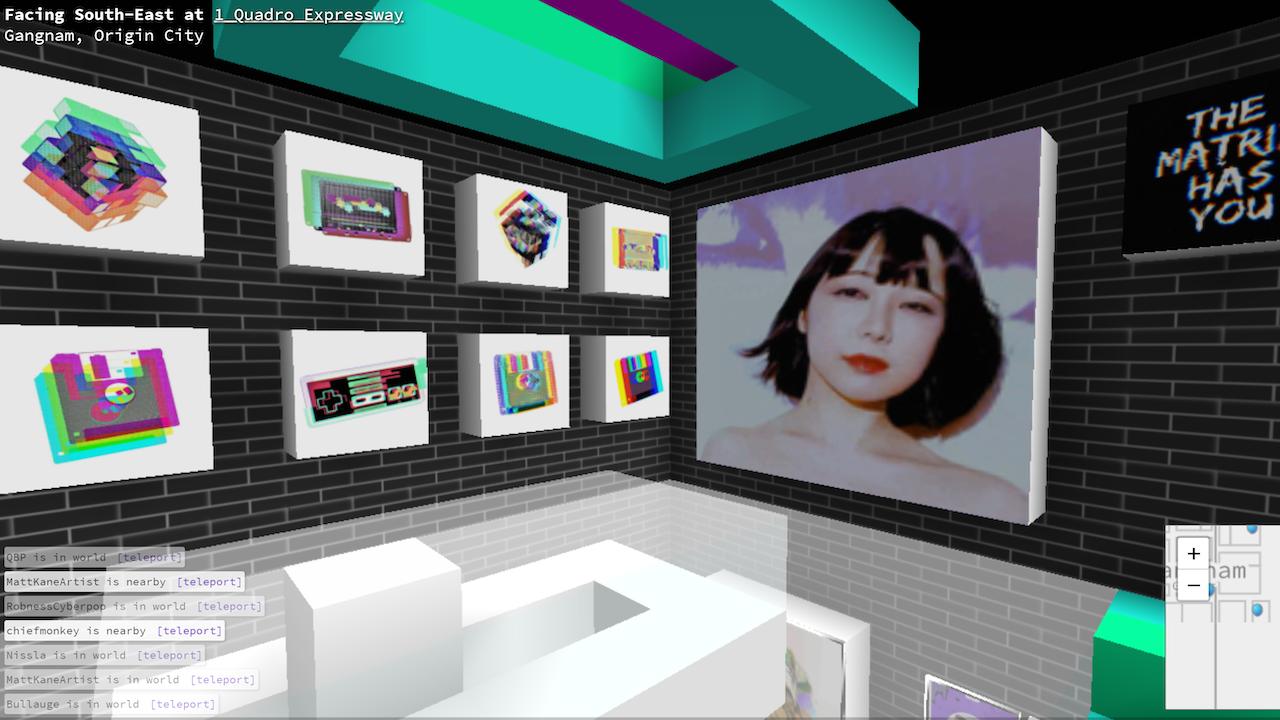 Connie Digital Virtual Art Gallery_3_Cryptovoxels