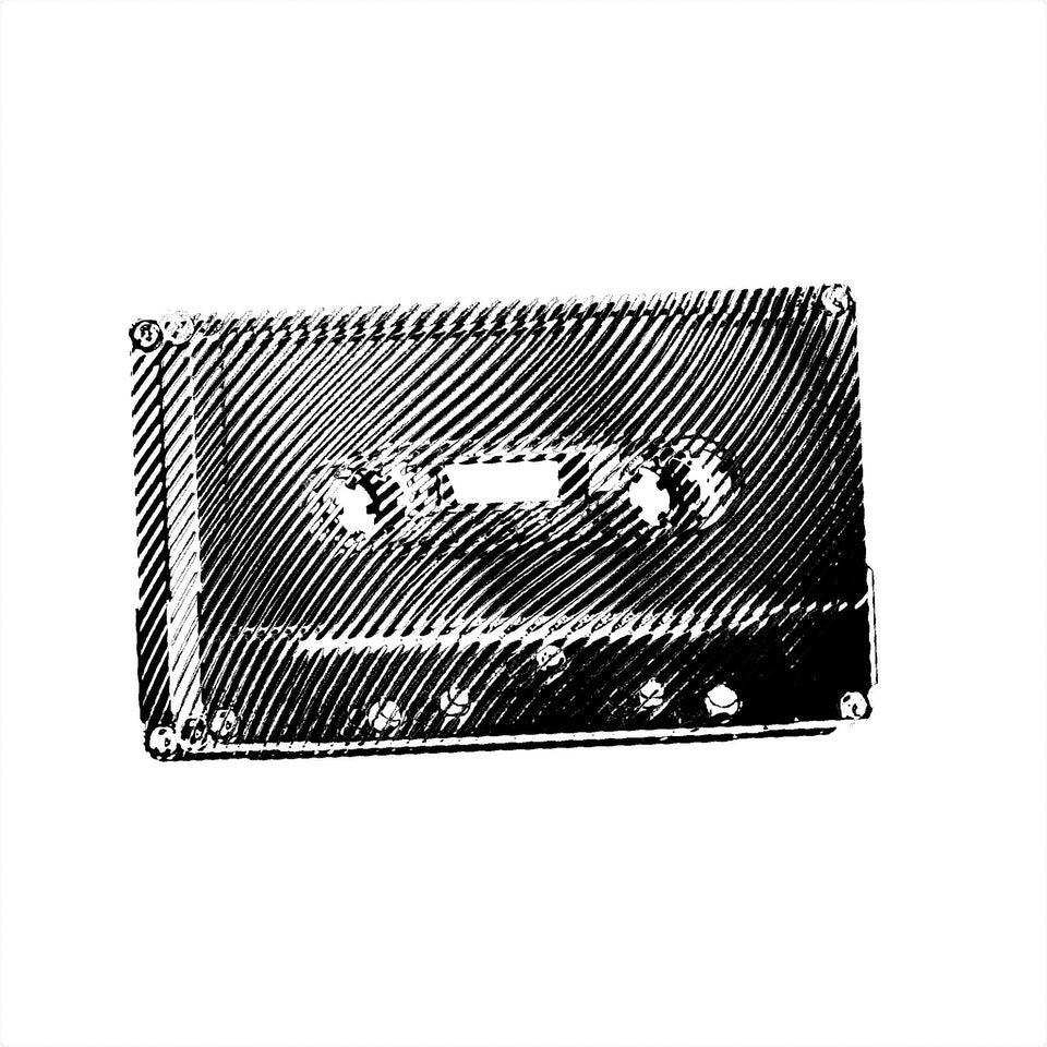 Achromatic Compact Cassette #5 by Connie Digital