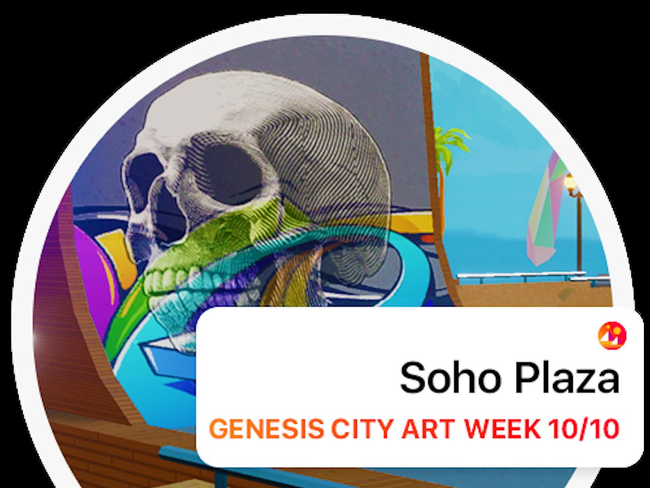 Decentraland - Soho Plaza Launch Party