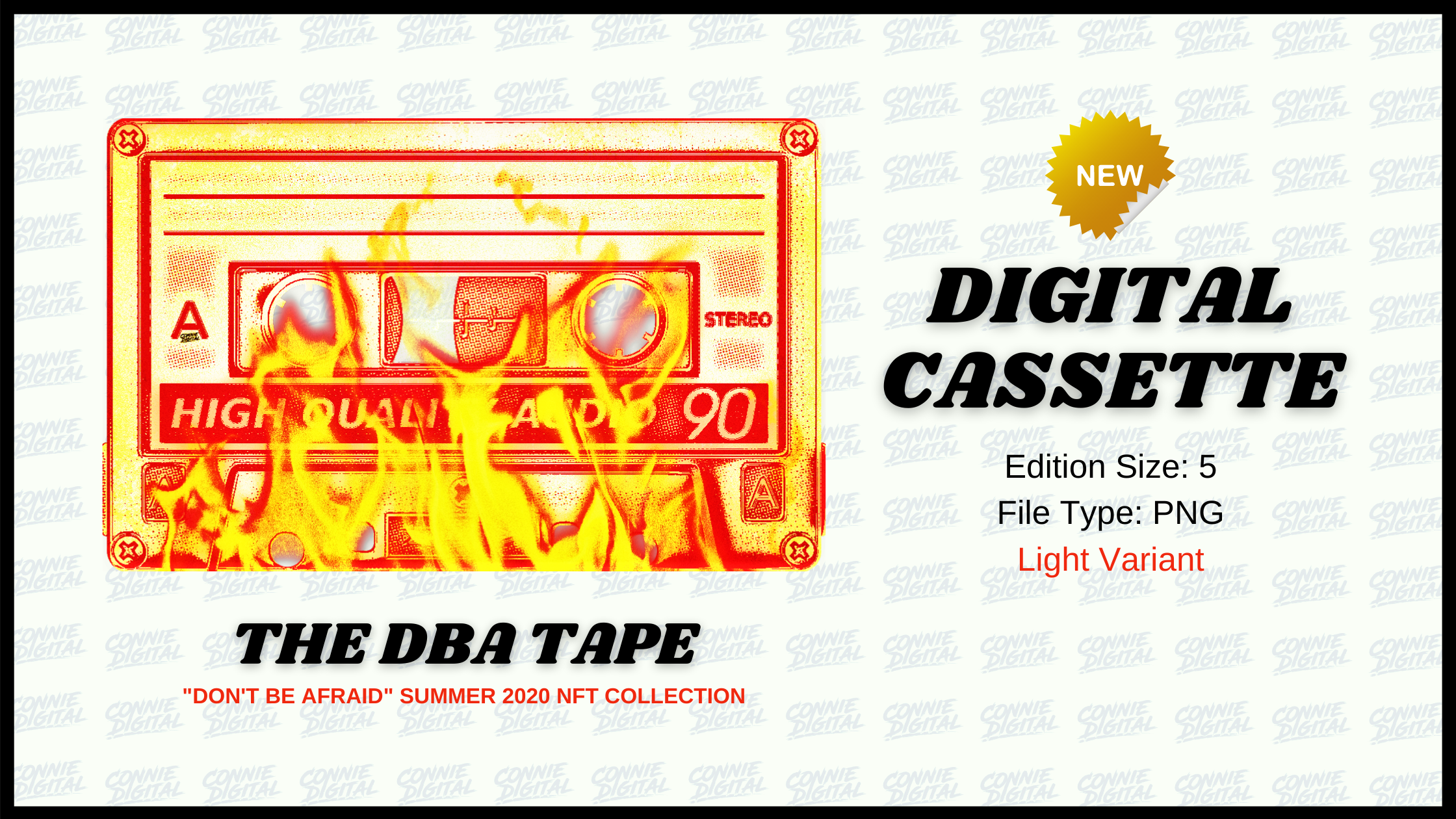 DIGITAL Collectibles The DBA Tape Connie Digital