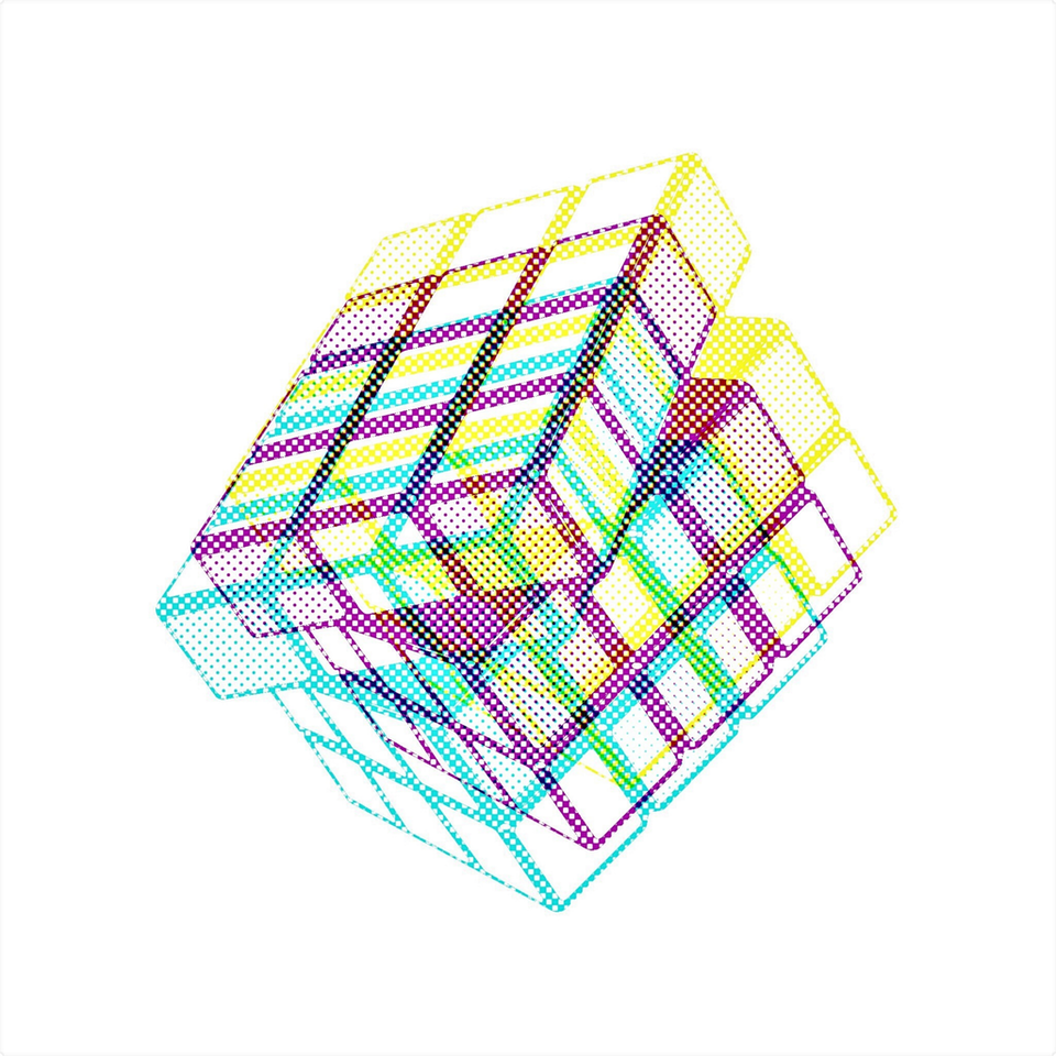 Chromatic Cube #6 by Connie Digital