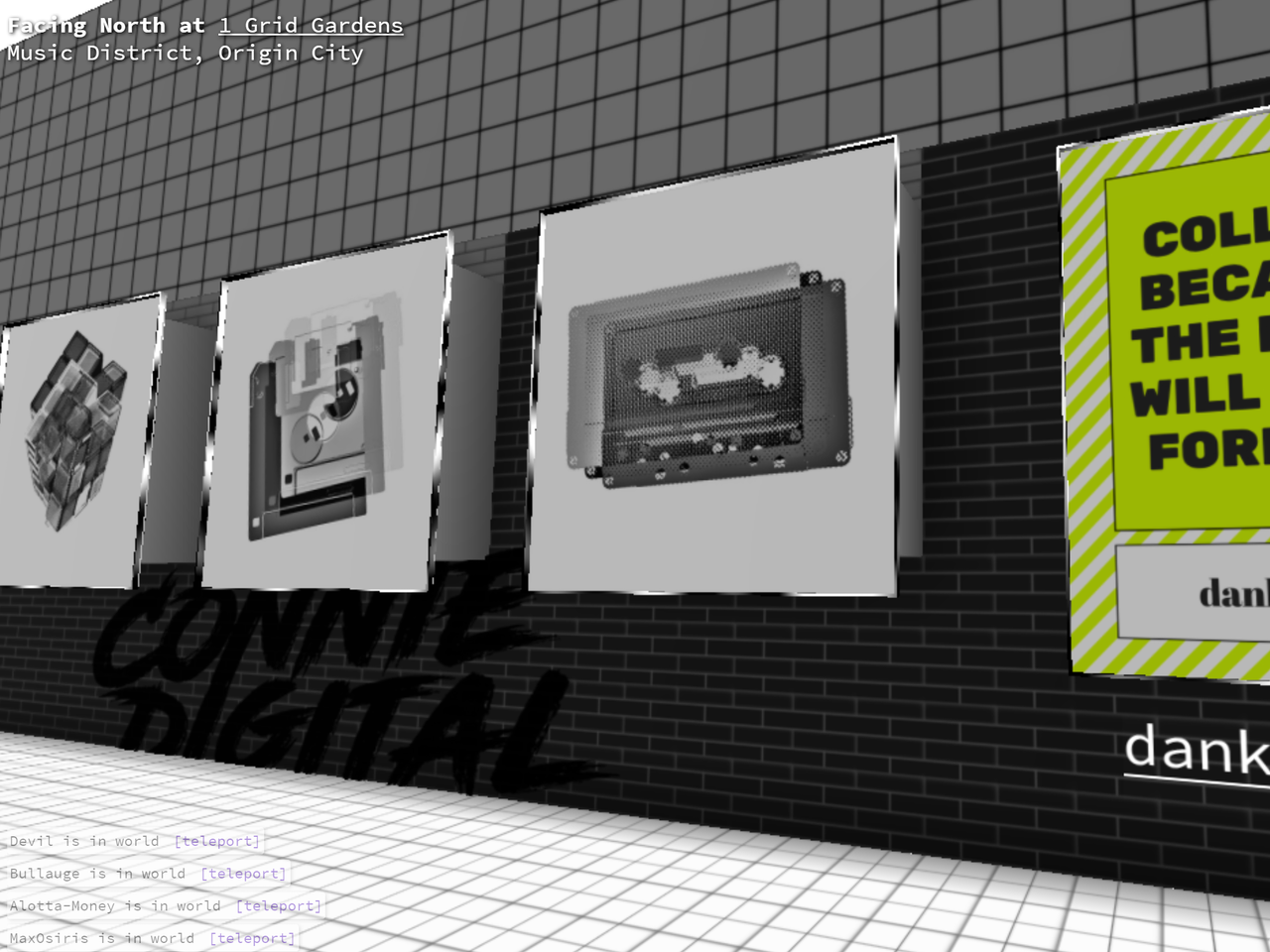 Connie Digital Virtual Art Gallery_18_Decentraland