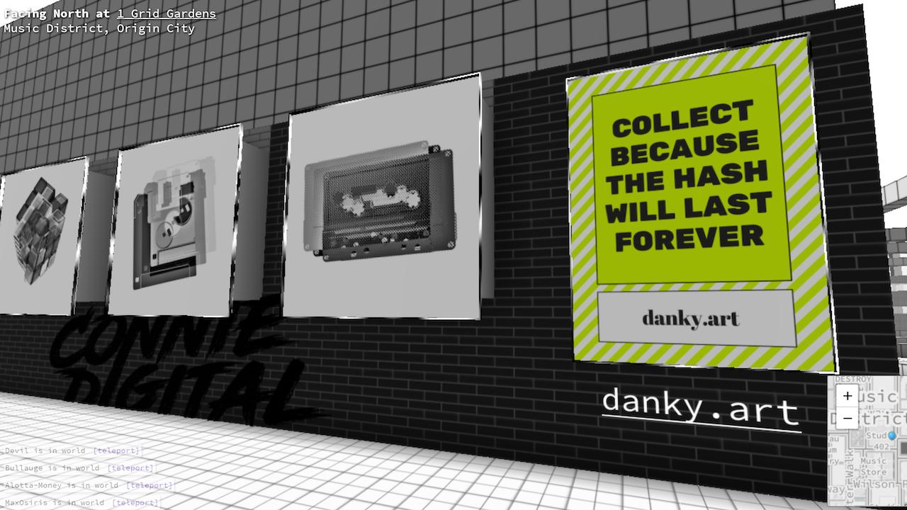 Connie Digital Virtual Art Gallery_18_Decentraland