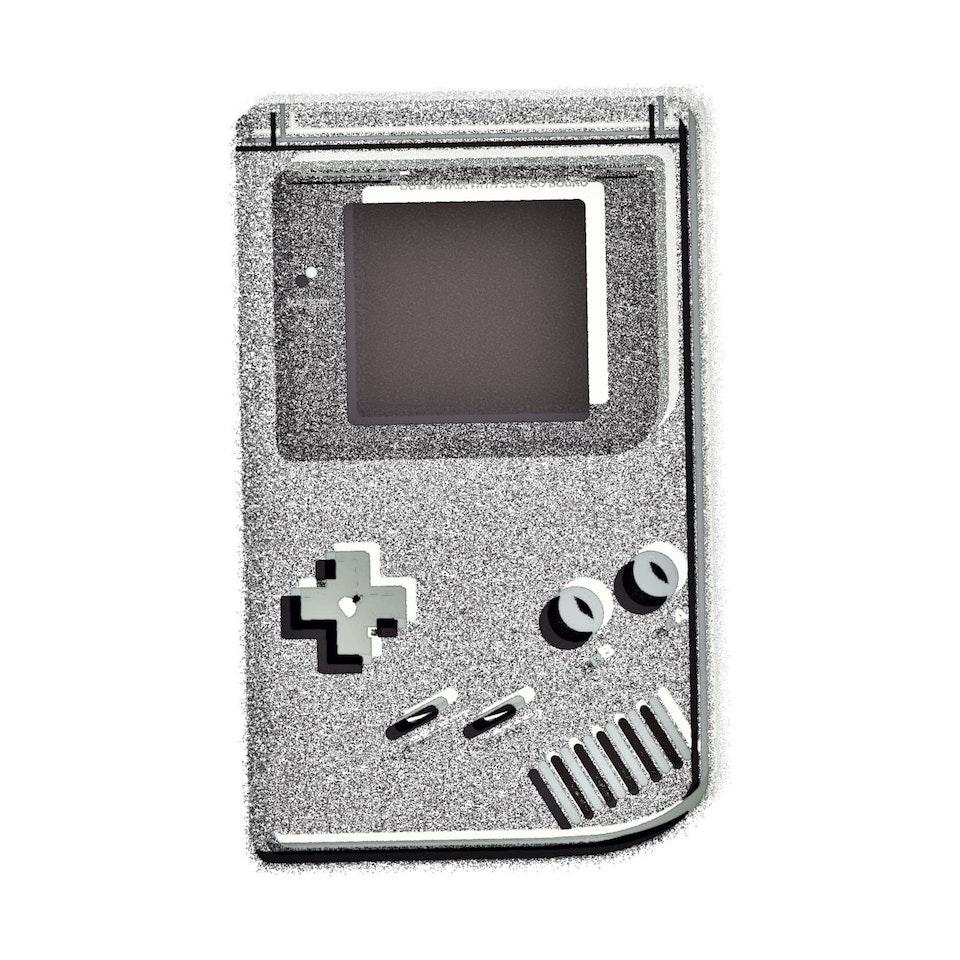 Achromatic Game Boy #1 by Connie Digital