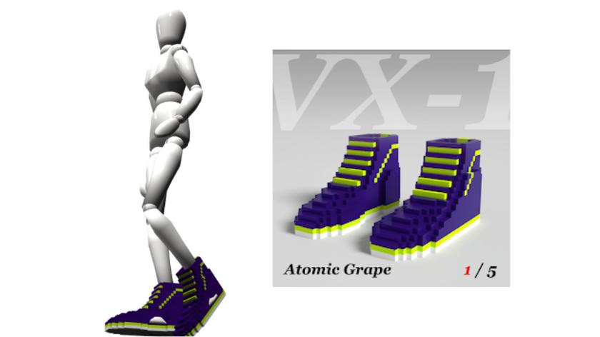 """VX-1 """"Atomic Grape"""" 1/5 Certificate"""