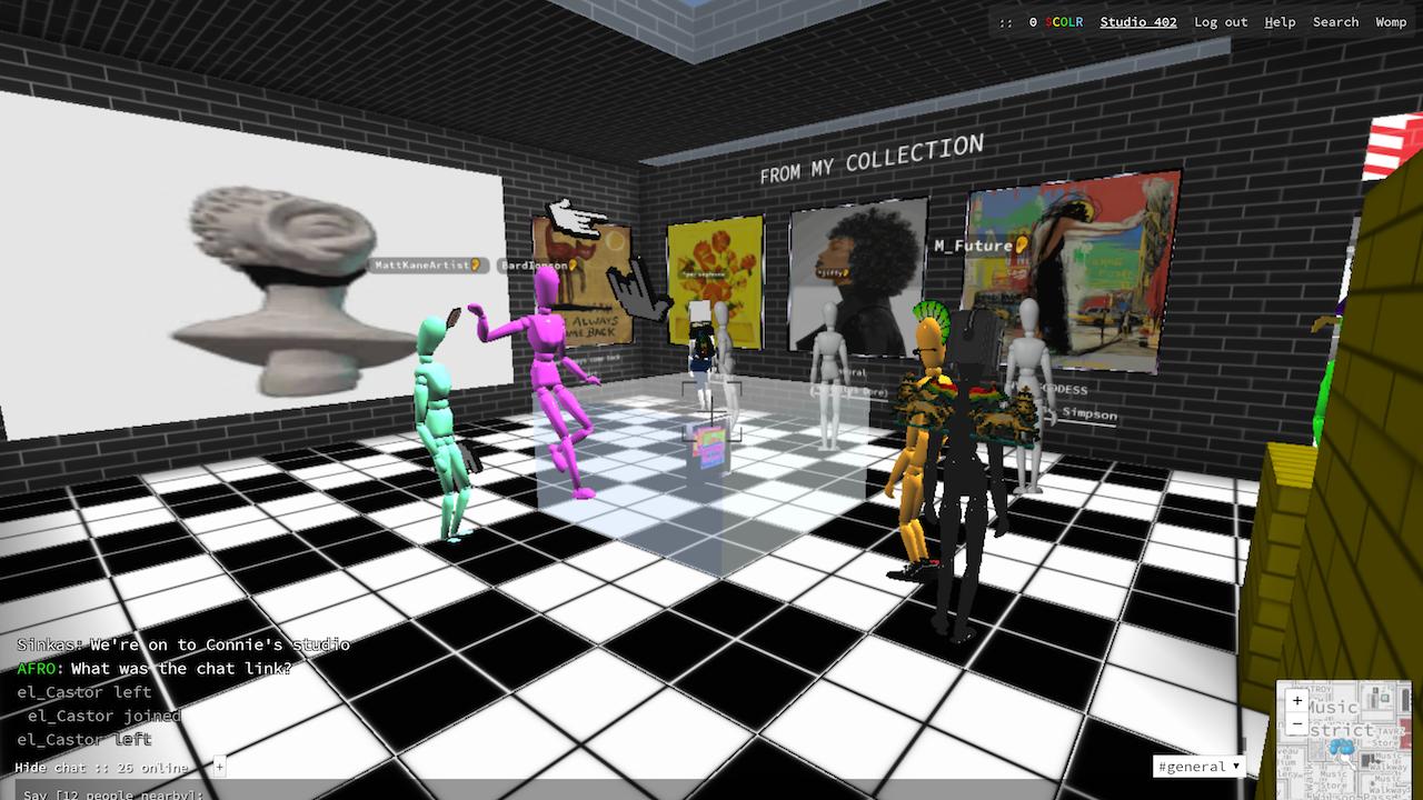 Connie Digital Virtual Art Gallery_A_Cryptovoxels