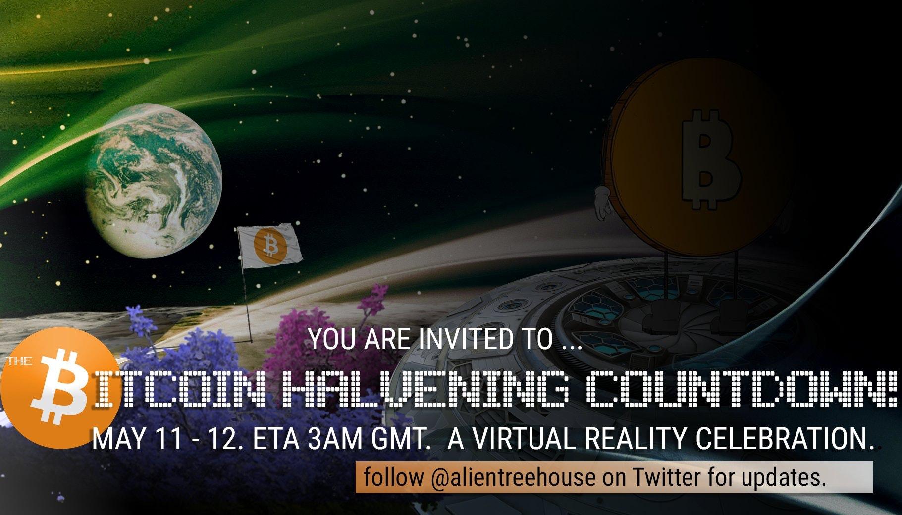 Bitcoin Halvening 2020 Party VR