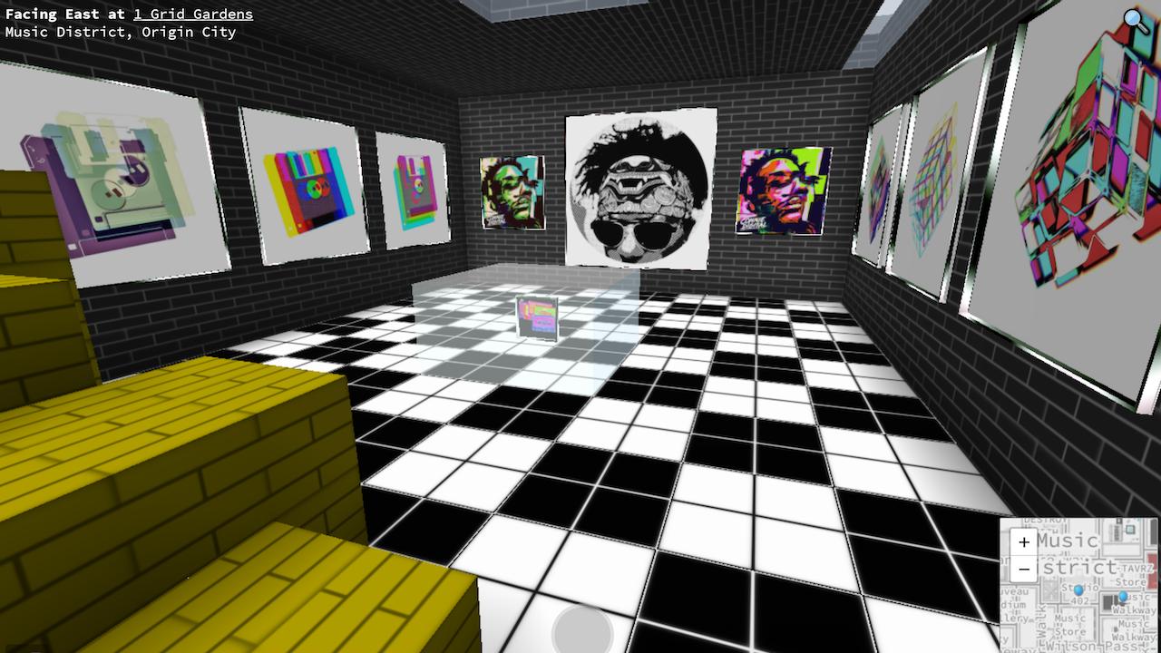 Connie Digital Virtual Art Gallery_2_Cryptovoxels