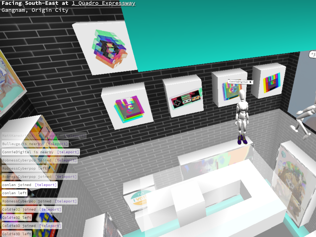 Connie Digital Virtual Art Gallery_4_Cryptovoxels