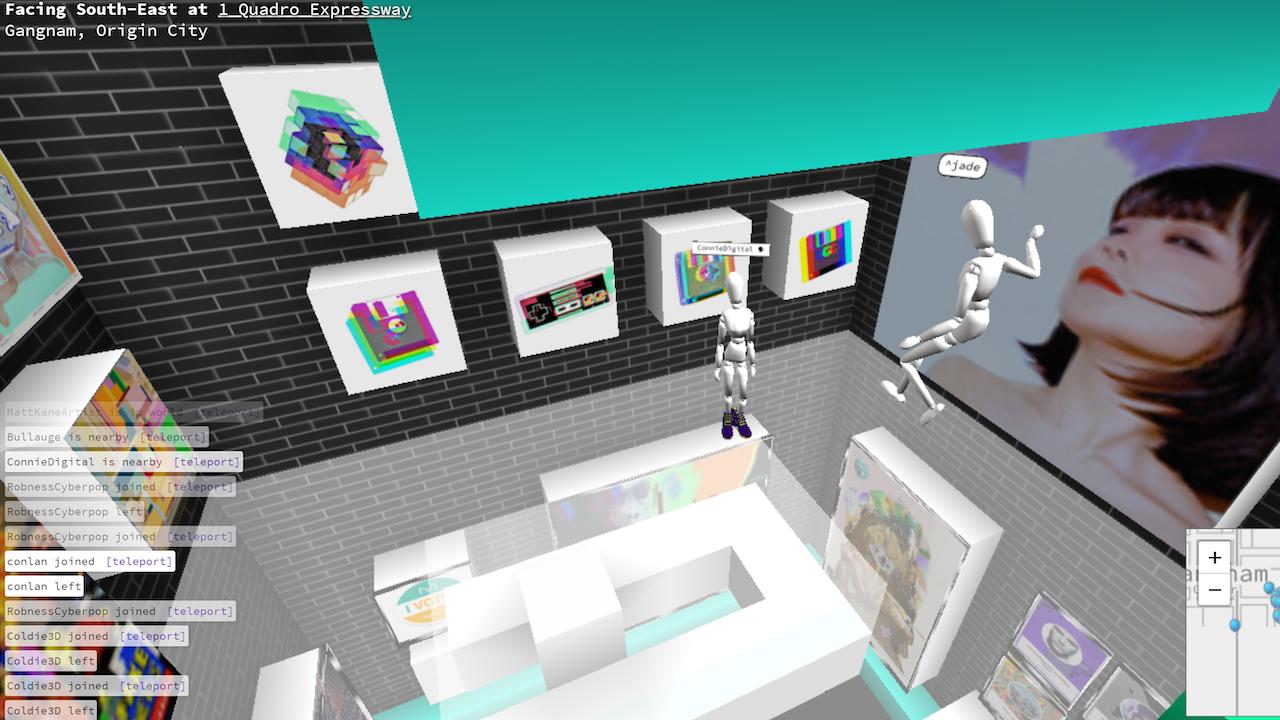Connie Digital Virtual Art Gallery_4_Cryptovoxels