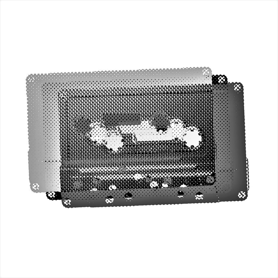 Achromatic Compact Cassette #1 by Connie Digital