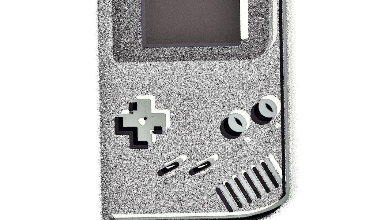 Achromatic Game Boy #1