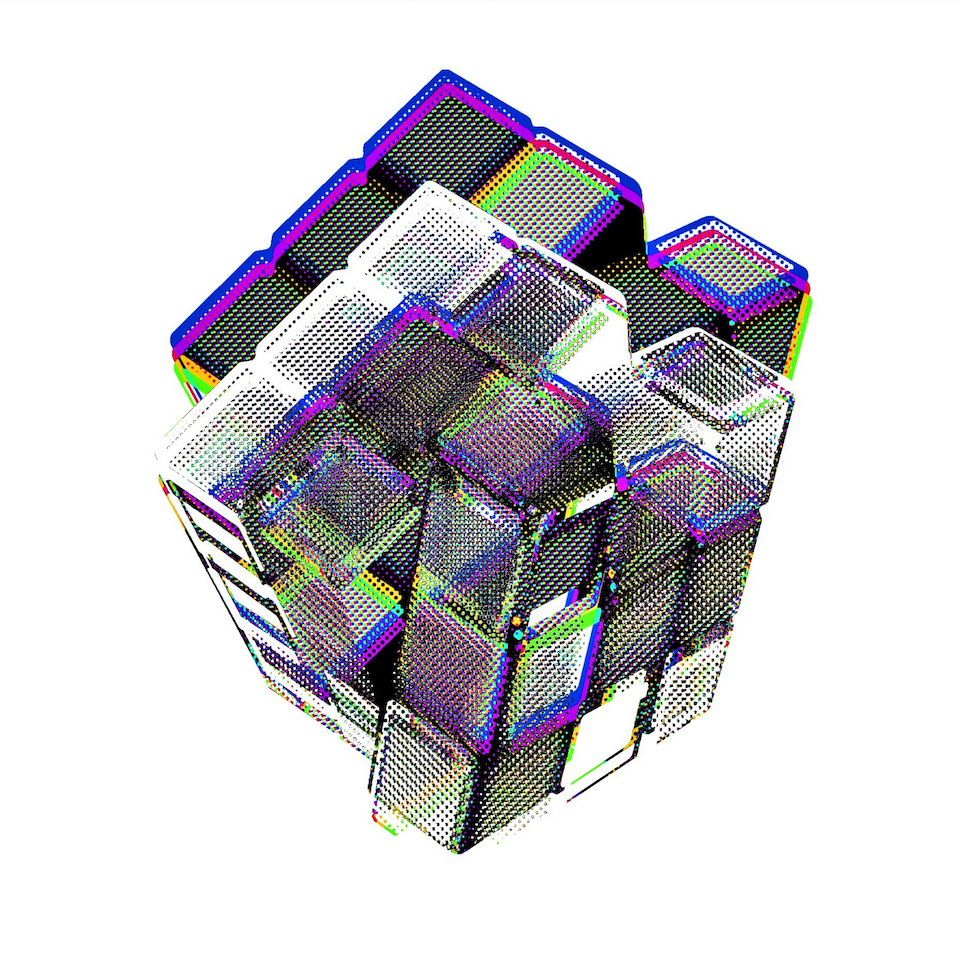 Chromatic Cube #1 by Connie Digital