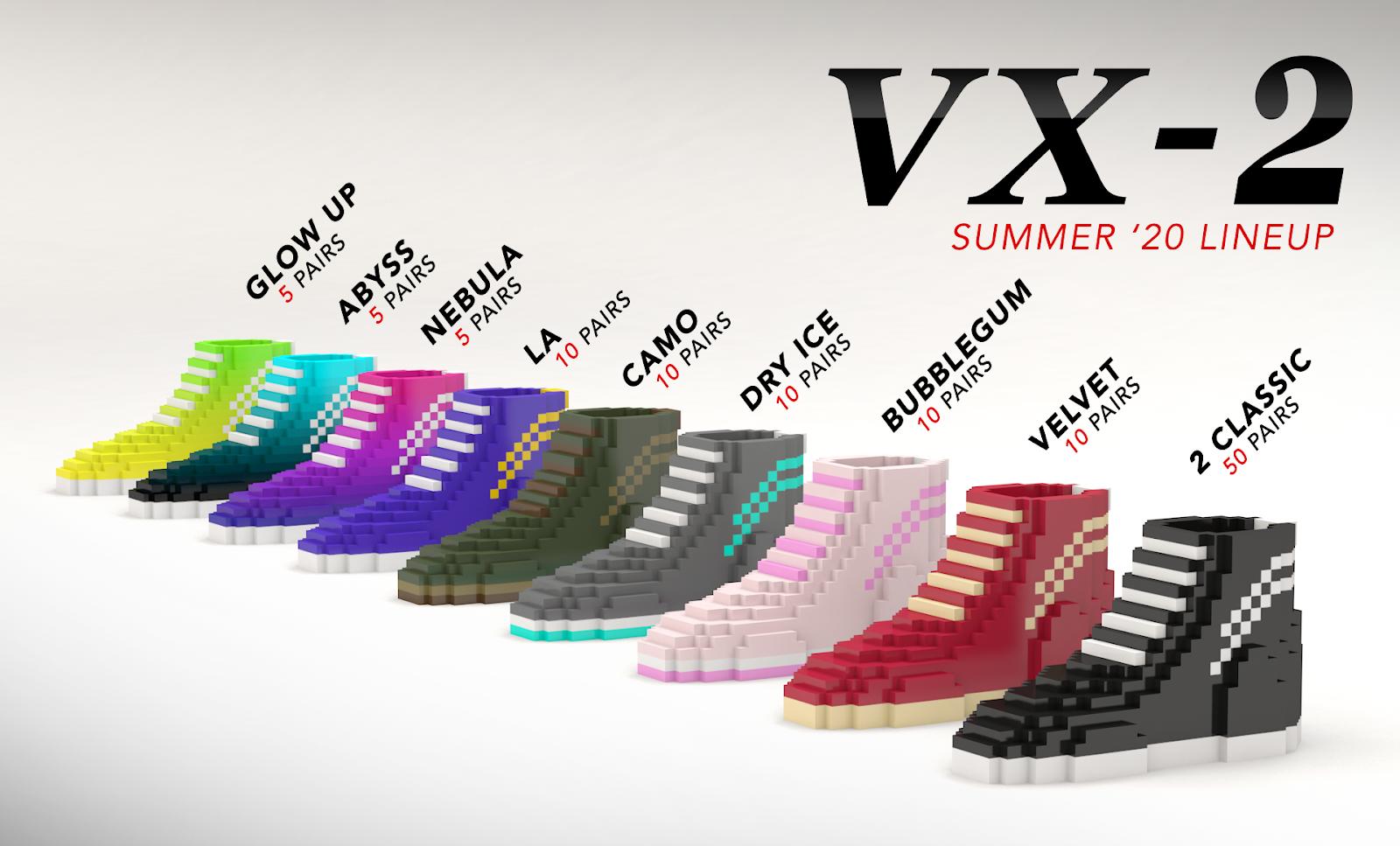 VX-2 n0shot cryptovoxels wearables NFT