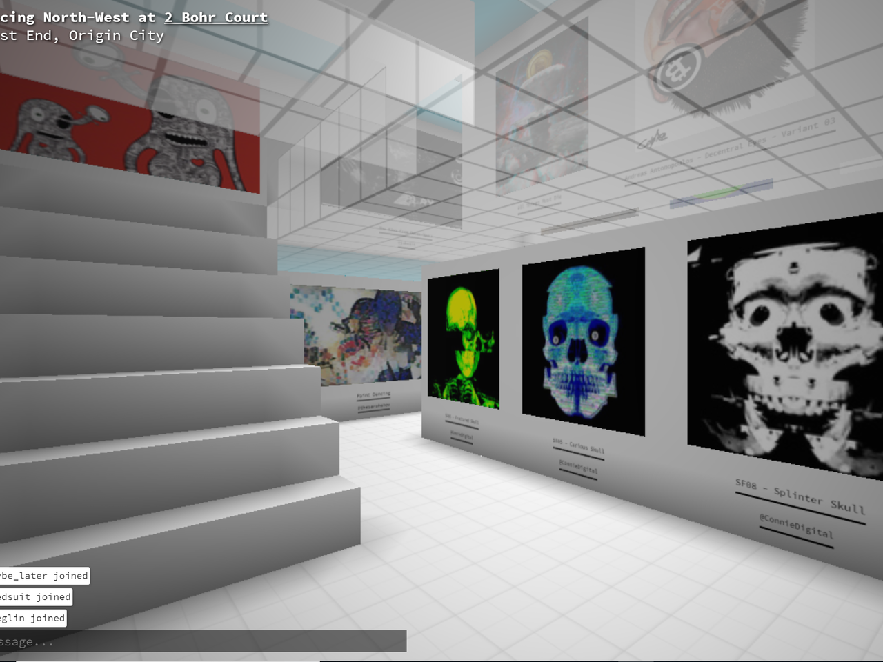 Connie Digital Virtual Art Gallery_5_Cryptovoxels