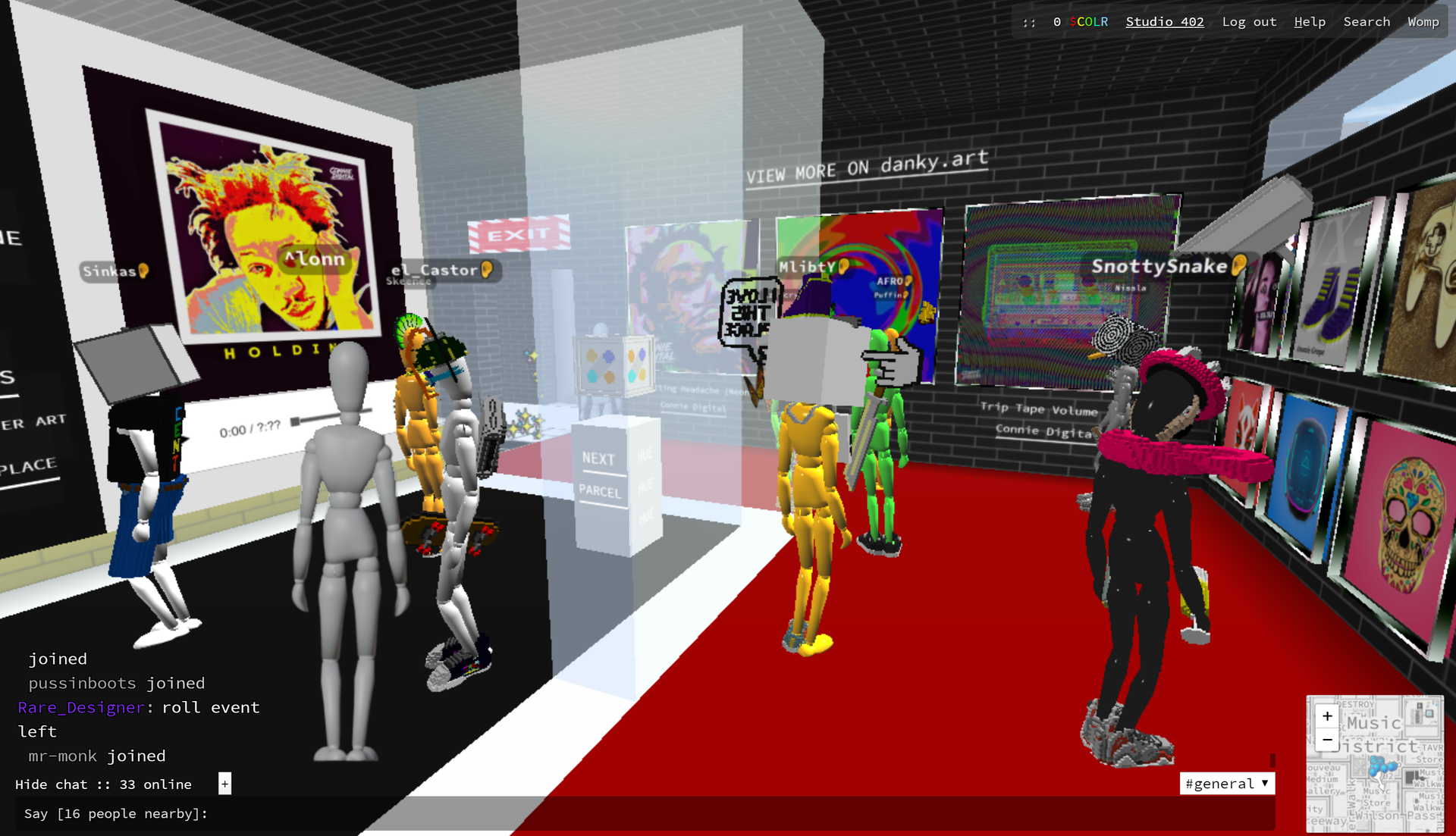 Connie Digital Virtual Art Gallery_D_Cryptovoxels