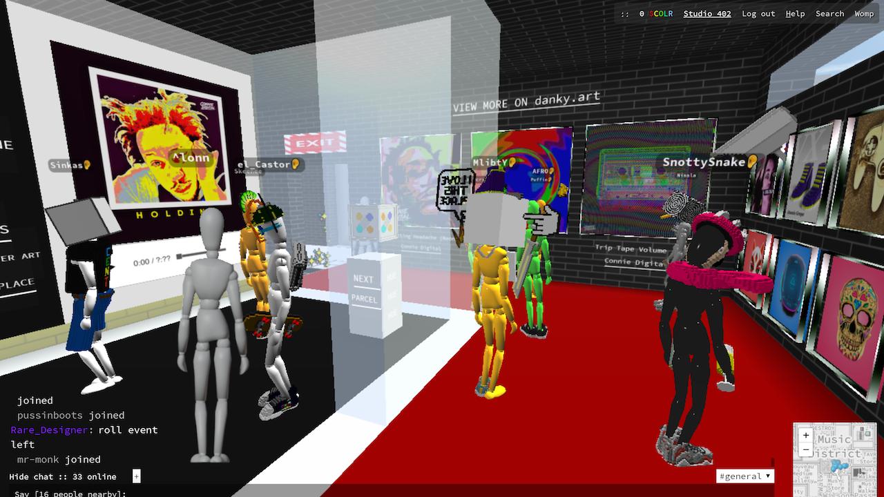 Connie Digital Virtual Art Gallery_D_Cryptovoxels