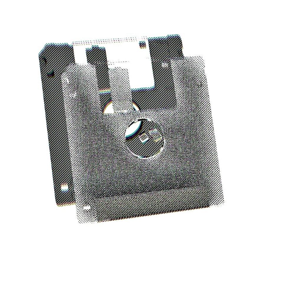 Achromatic Floppy Disk #3 by Connie Digital