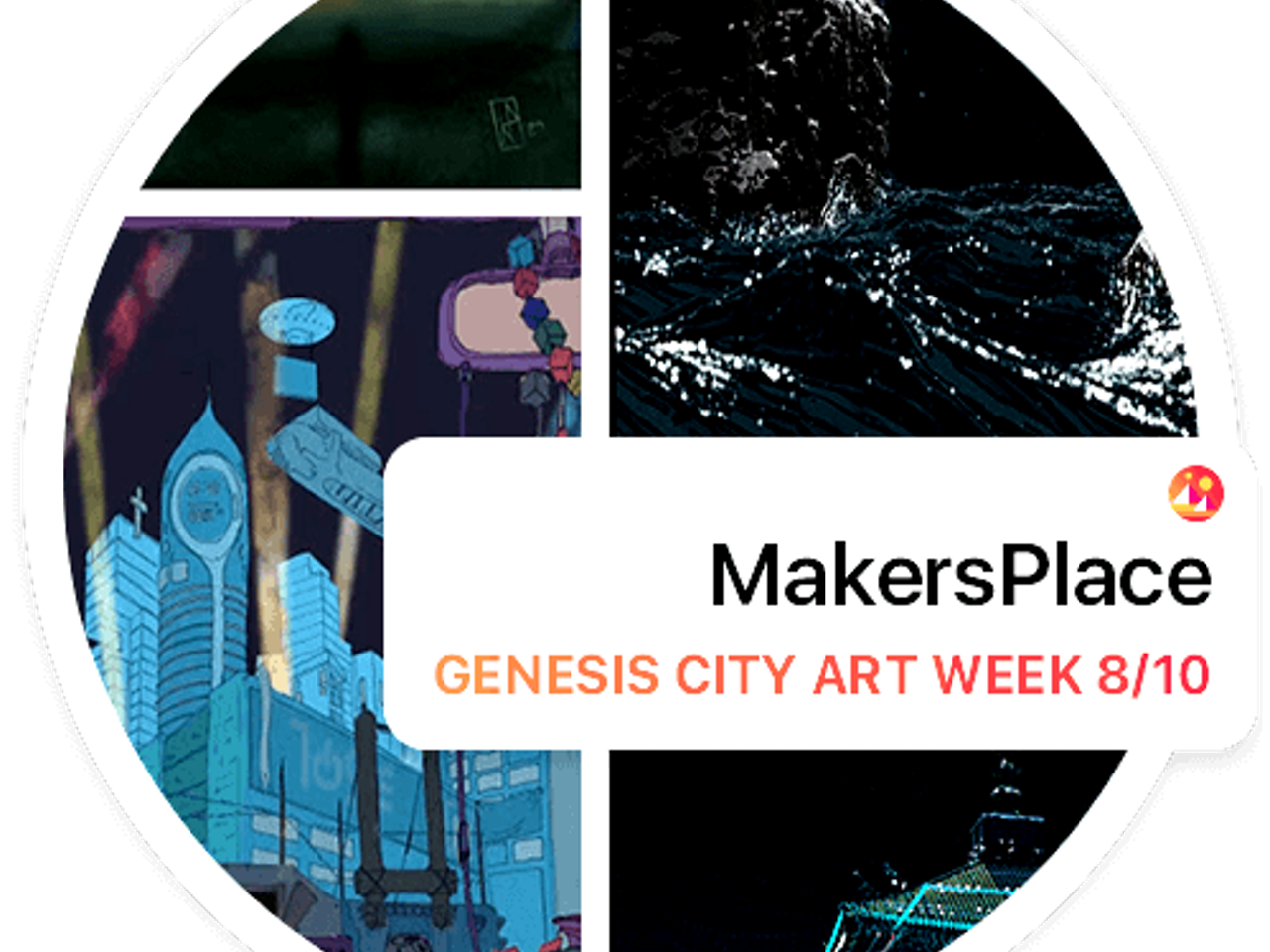Decentraland - MakersPlace Gallery Opening