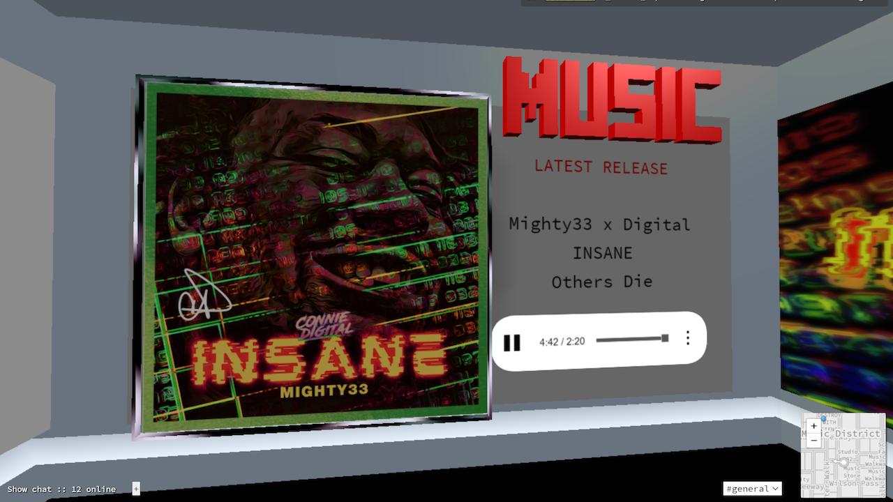 Insane Tape in Studio 402 3