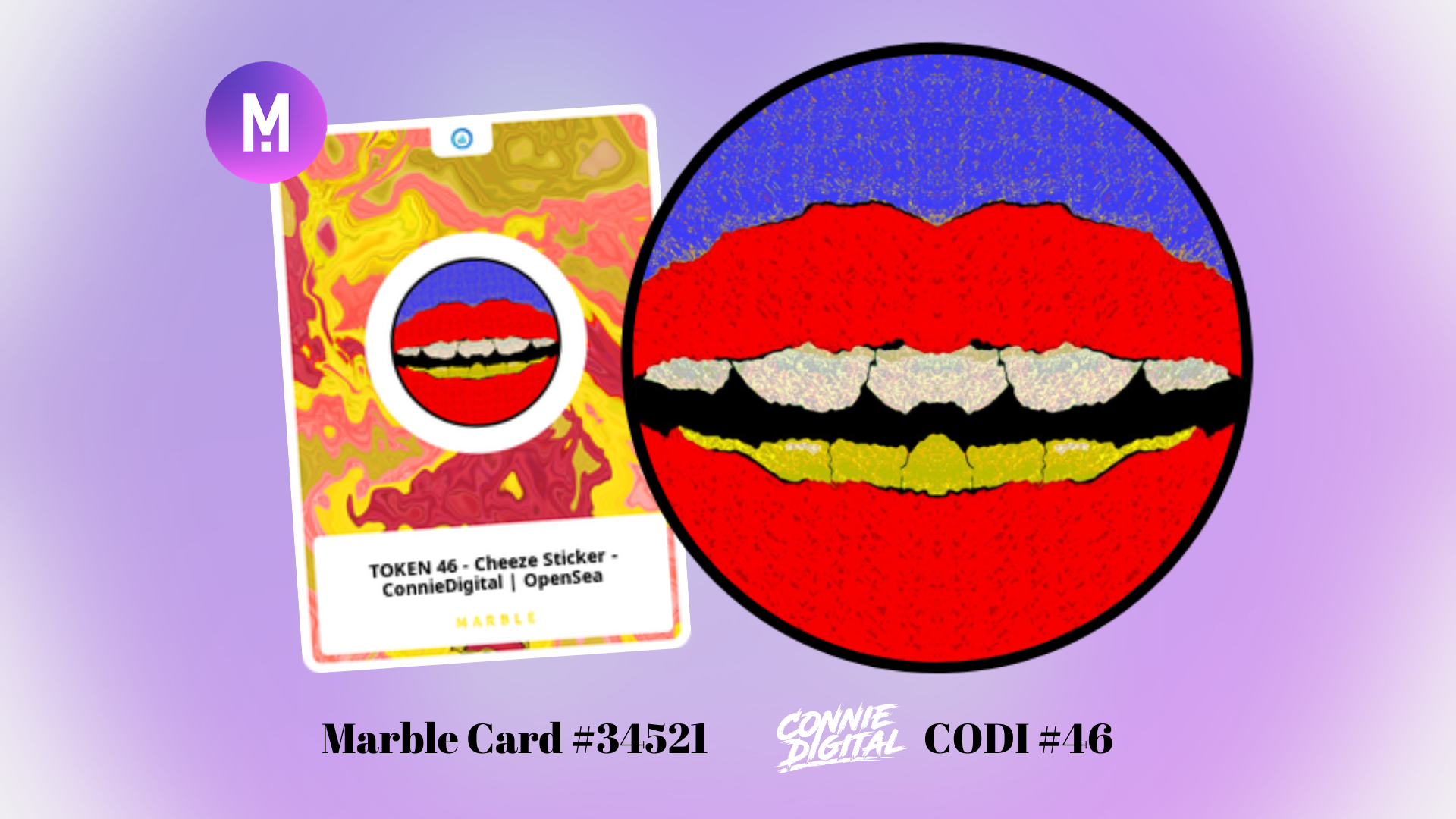 Marble Cards Connie Digital MarbleCoin