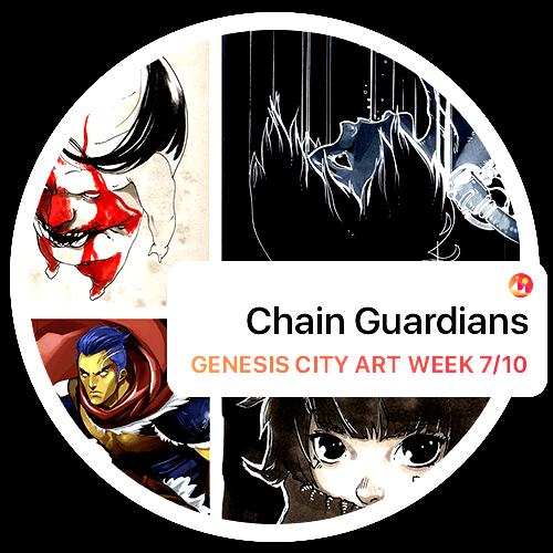 Decentraland - Chain Guardians Present the Art of NOI