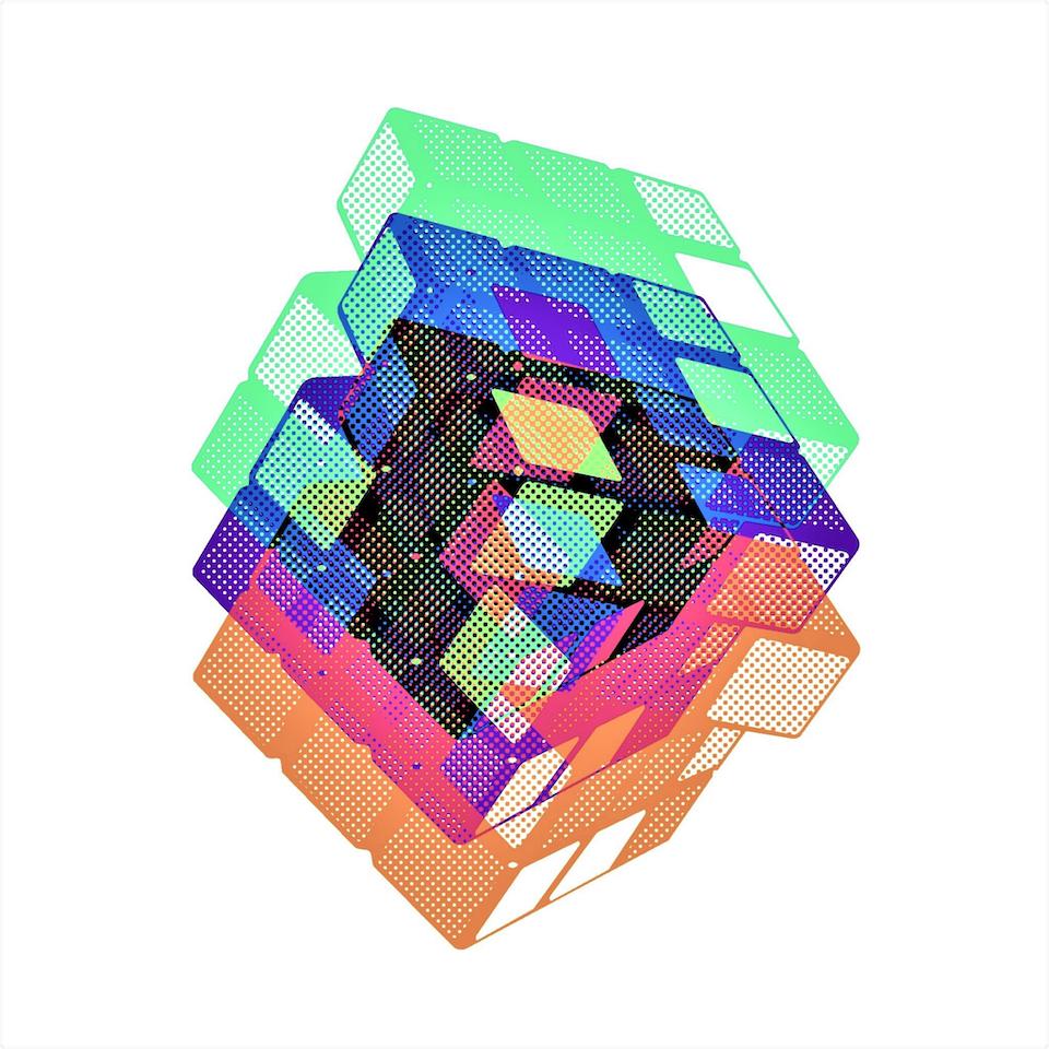 Chromatic Cube #4 by Connie Digital
