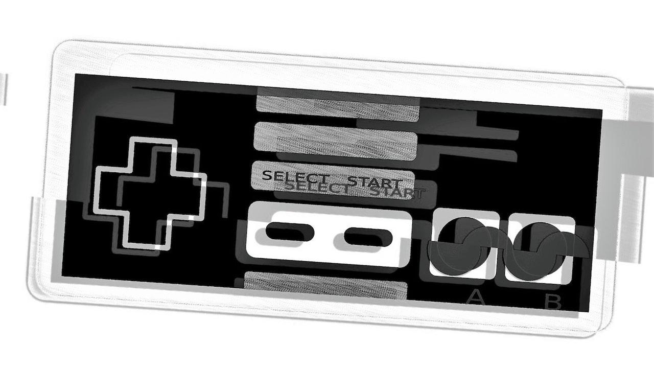 Achromatic NES Controller #2