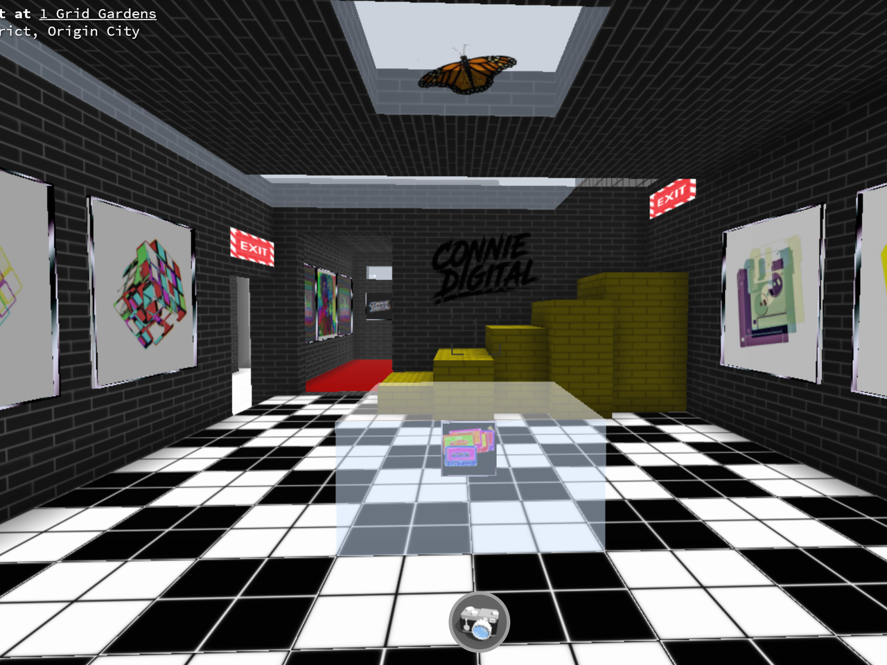 Connie Digital Virtual Art Gallery_6_Cryptovoxels