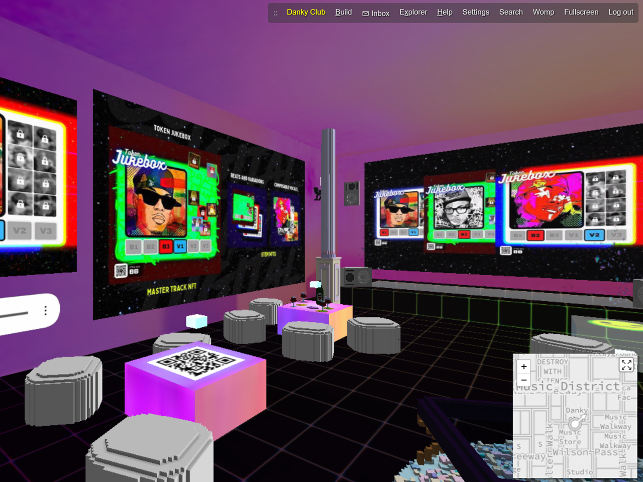 Token Jukebox_Danky Club