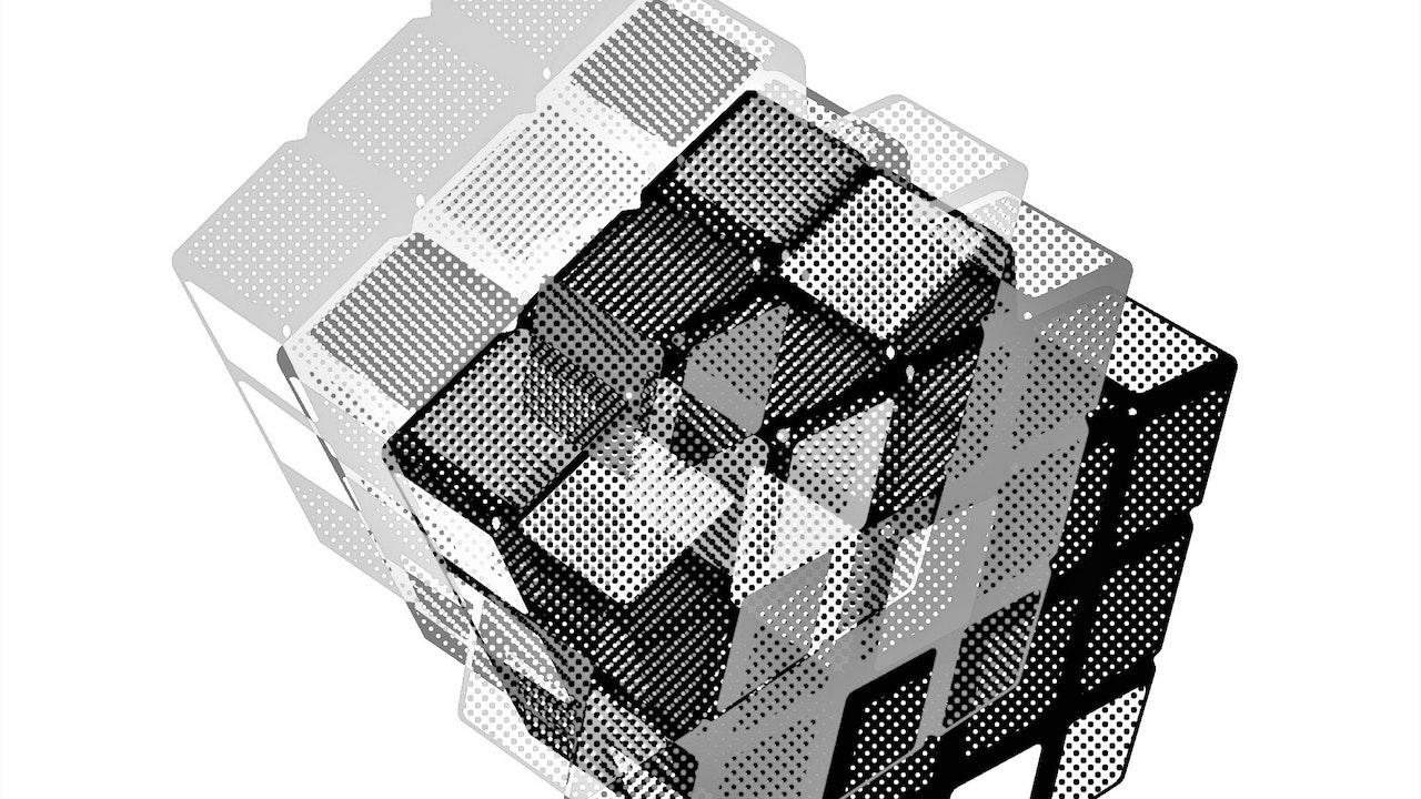 Achromatic Cube #2