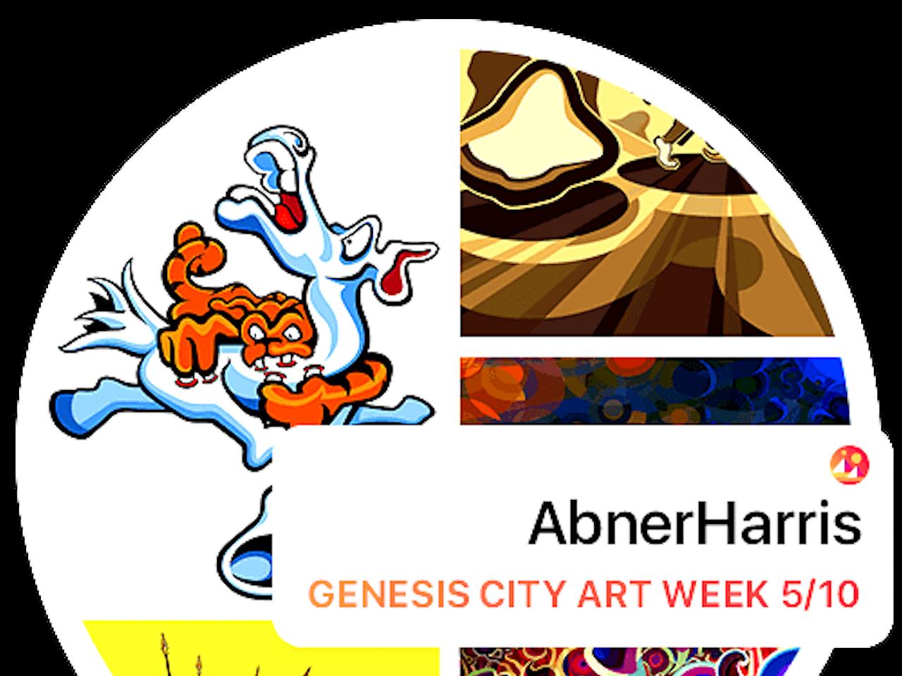 Decentraland - Abner Harris Art Exhibition