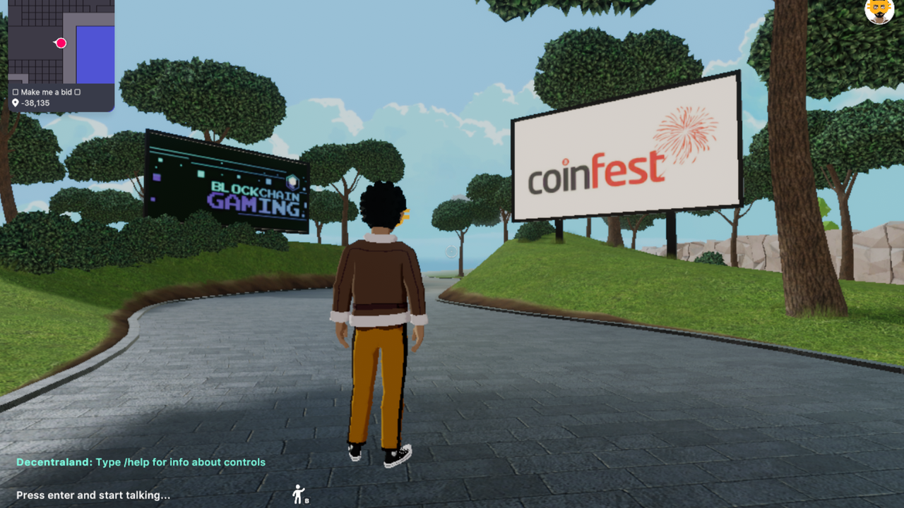 CoinFest in Decentraland