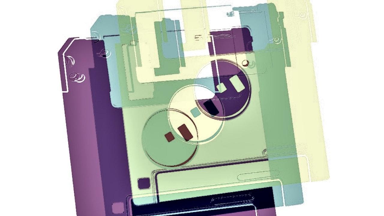 Chromatic Floppy Disk #8