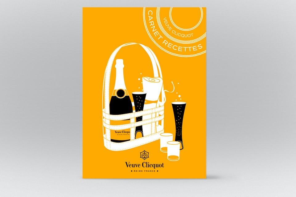 THE YELLOW BASKET  - VEUVE CLICQUOT -