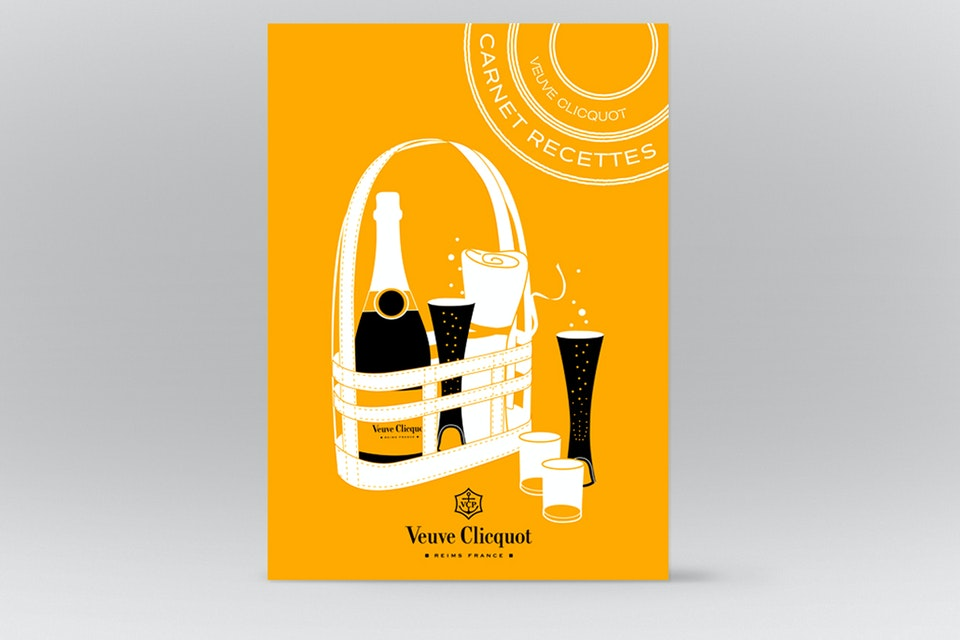THE YELLOW BASKET  - VEUVE CLICQUOT