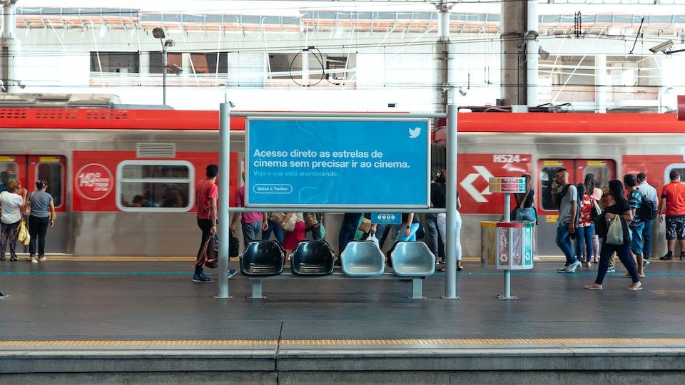 Sea of Blue - Twitter