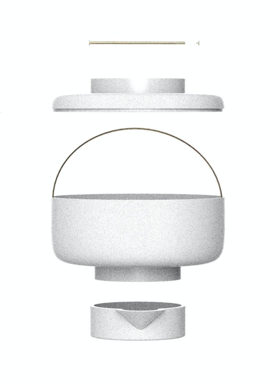Composteur en céramique